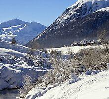 Along the valley by Steve plowman