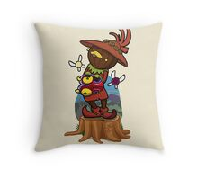 Bestest friends in all of Termina! Throw Pillow