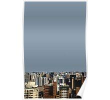 fukuoka skyline Poster