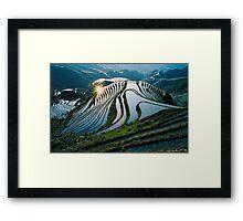 Rice Terraces 2(Banaue,Phil.) Framed Print