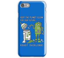 Robot Earth iPhone Case/Skin