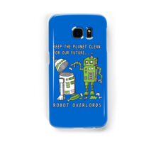 Robot Earth Samsung Galaxy Case/Skin