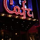 Neon Cafe by Cherie Baxter
