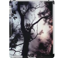 Tree branches on summer evening  in Spain square medium format film analogue photographer iPad Case/Skin