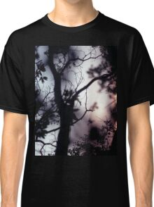Tree branches on summer evening  in Spain square medium format film analogue photographer Classic T-Shirt