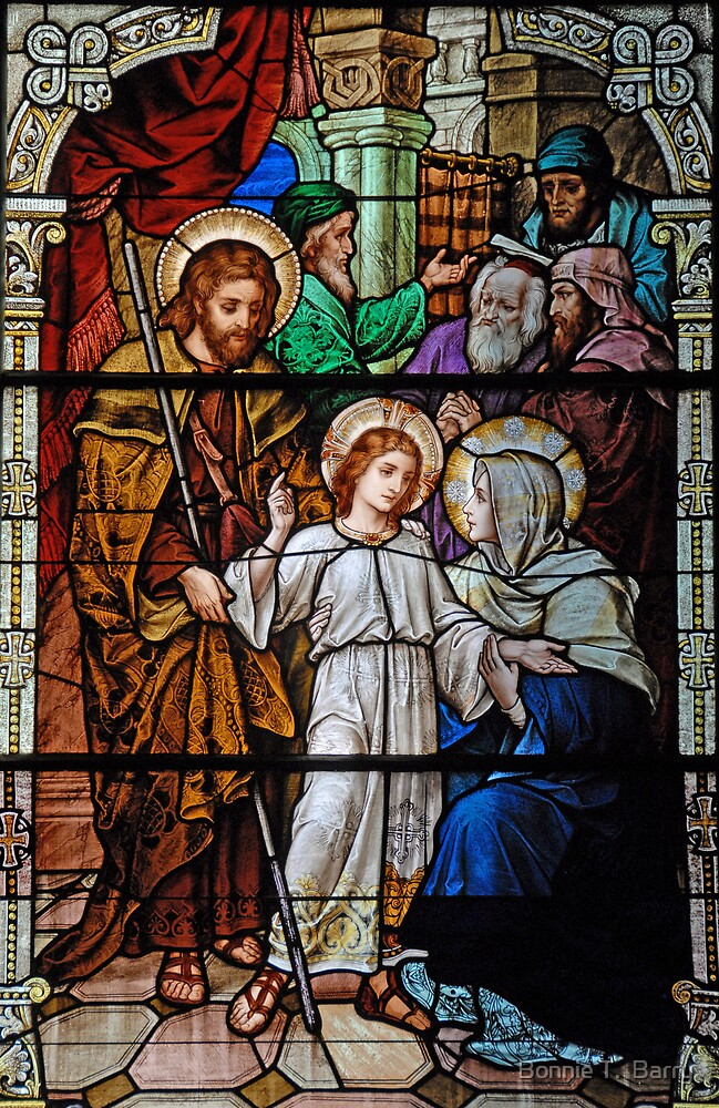 The Finding of the Child Jesus in the Temple by Bonnie T.  Barry