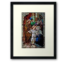 The Finding of the Child Jesus in the Temple Framed Print