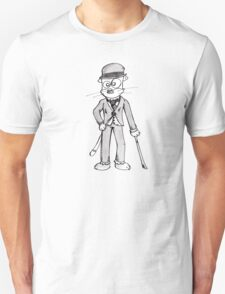 Chatrlie Chatplin Unisex T-Shirt