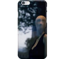 Surreal shop dummy mannequin portrait square color analogue medium format film still life Hasselblad  photo iPhone Case/Skin