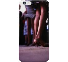 Young lady dancing in Spanish wedding party dance Hasselblad  analog film still life photo iPhone Case/Skin
