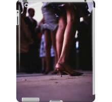 Young lady dancing in Spanish wedding party dance Hasselblad  analog film still life photo iPad Case/Skin