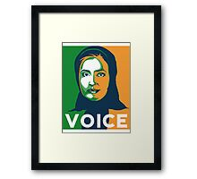 VOICE by Tai's Tees Framed Print