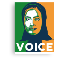 VOICE by Tai's Tees Canvas Print