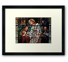 Eucharist, Manna from Heaven Framed Print