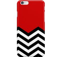 Twin Peaks Chevron Pattern iPhone Case/Skin