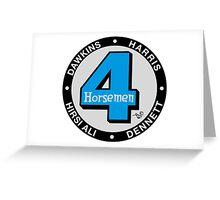Four Horsemen Fantastic Remix by Tai's Tees Greeting Card