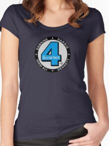 Four Horsemen Fantastic Remix by Tai's Tees Women's Fitted Scoop T-Shirt