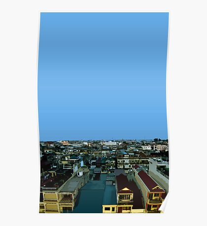 pnom penh view Poster