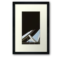 under interchange Framed Print
