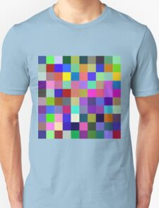 Red, Blue, Yellow: 3 primary colors Unisex T-Shirt