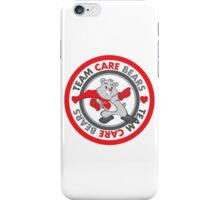 Team Care Bears Logo for Aids Walk Miami iPhone Case/Skin