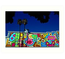 Pop Goes L.A. Art Print