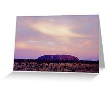 Ayres Rock#2 Greeting Card