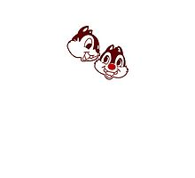 I Heart Chip 'n' Dale (Classic Logo) by ShopGirl91706