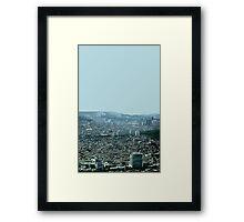 seoul flowing Framed Print