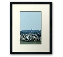 seoul view Framed Print