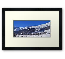 Panorama of Livigno  Framed Print