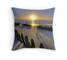 SS Dicky HDR Throw Pillow