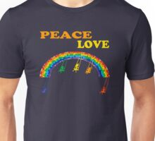peace love children rainbow Unisex T-Shirt