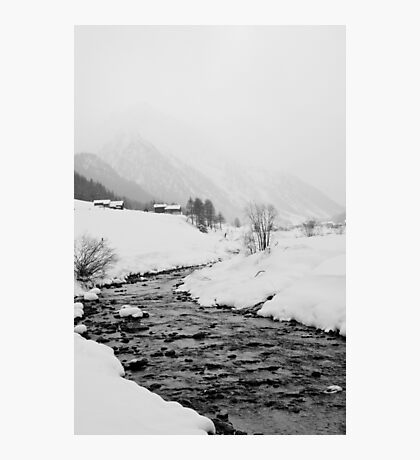 A snowy day Photographic Print