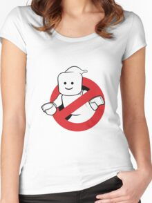 Lego Ghostbusters Women's Fitted Scoop T-Shirt