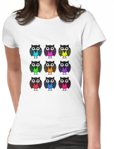 bird tee Womens Fitted T-Shirt