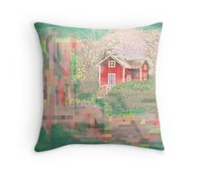 'Thoughts of summer' Throw Pillow
