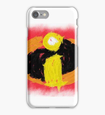 Incredibles logo (urban) iPhone Case/Skin