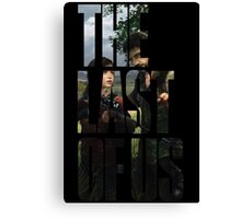 Tlou (collage 2) Canvas Print