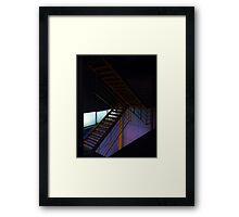 NYC Taxi-Lift Framed Print