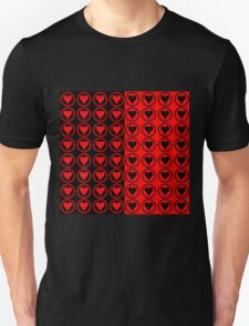 Red heart Black heart T-Shirt