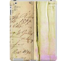 Vintage paper No 1. iPad Case/Skin
