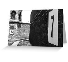Old Adelaide Gaol Greeting Card