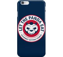 Let The Panda Eat iPhone Case/Skin