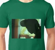 Rap hip hop singer  in bar nightclub in silhouette photograph Unisex T-Shirt