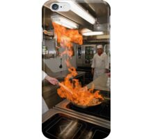 Flaming Chef iPhone Case/Skin