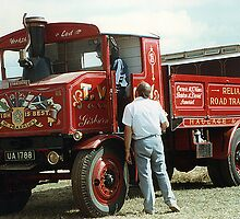 Foden steam truck by Twscats