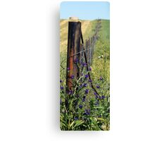 Slim Fence Canvas Print