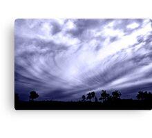 Whirled Sky Canvas Print