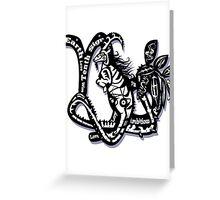 Capricorn star sign Greeting Card